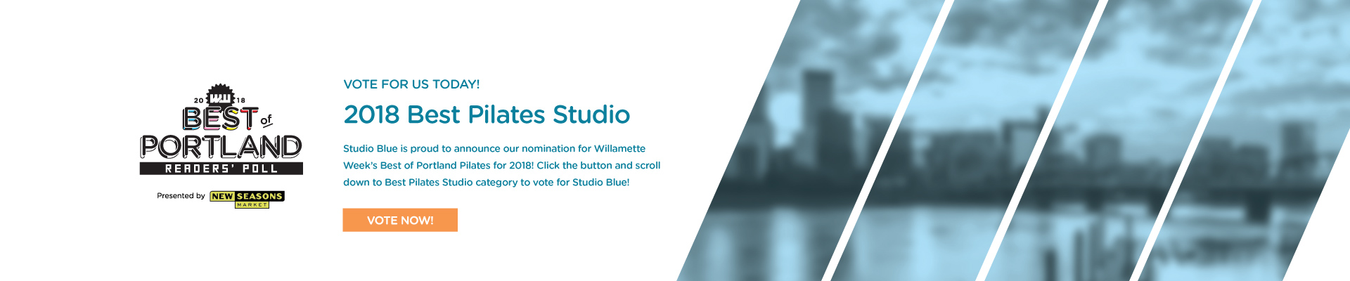 Vote for Studio Blue in the Willamette Week Best of Portland Contest!