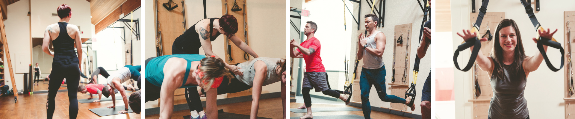 TRX Fitness Classes at Studio Blue Pilates in Downtown Portland Oregon