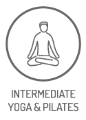 Intermediate Yoga & Pilates Classes at Studio Blue in NW Portland